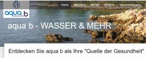 aqua b - Wasser und mehr