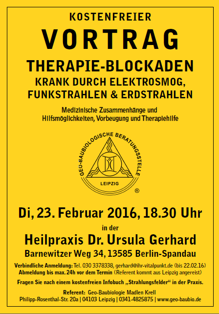 Therapie Blockaden - Krell
