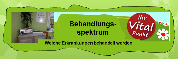 Alternative Therapien - Behandlungssprektrum