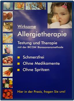 Allergische Reaktion und Bioresonanz - Fa. Regumed