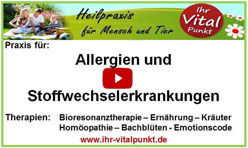 Allergien und Stoffwechselerkrankungen - Heilpraxis Ursula Gerhard