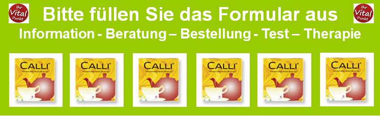 Heilpraxis Spandau - Calli Tee - Beratung Bestellung Test Therapie