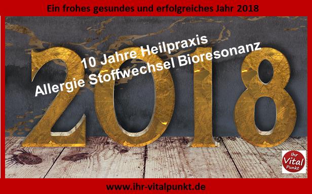 Frohes gesundes erfolgreiches Jahr 2018