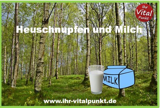 Heuschnupfen und Milch