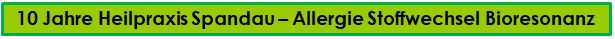 Heilpraxis Spandau- Bioresonanz