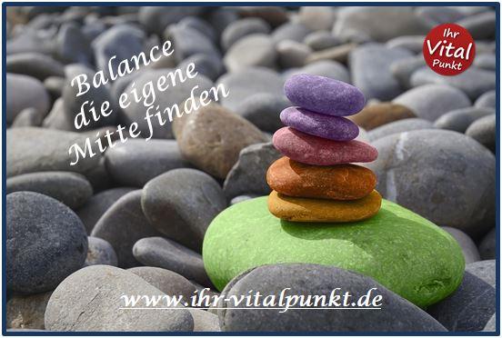Balance die eigene Mitte finden