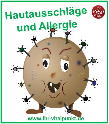 Hautausschläge und Allergie