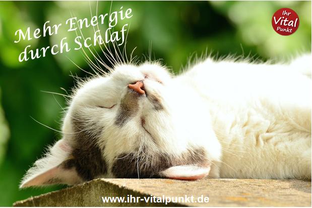 Mehr Energie durch Schlaf